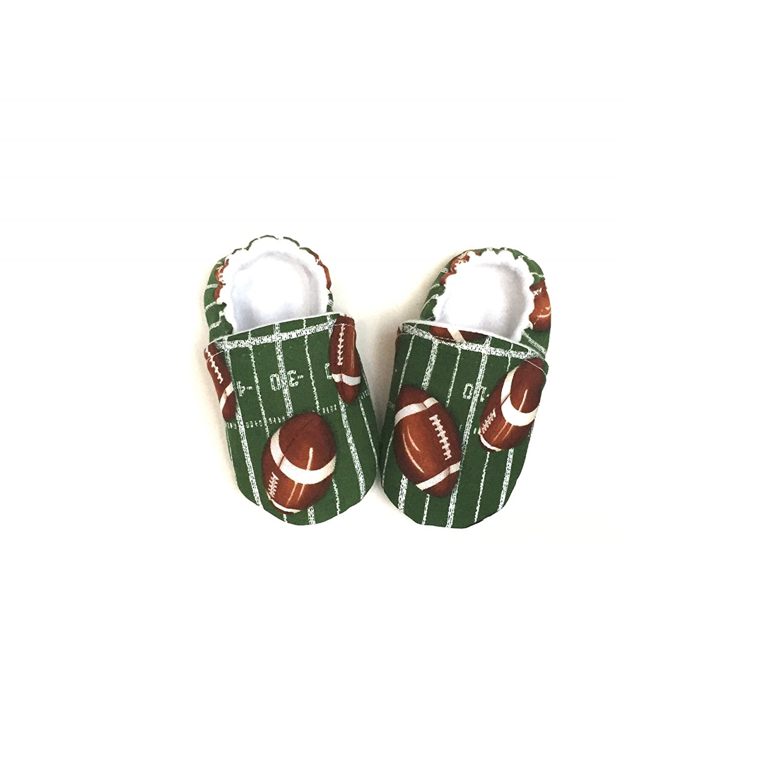 Super Bowl Outfit, Football Baby Outfit, Sport Baby Shoes, Super Bowl Baby, Football Baby Shower, Football Gift, Football Birthday, Football Fan Moccasins, ...
