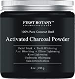 Activated Charcoal Powder 8 oz for DIY Recipes - Teeth Whitening, Facial Masks, Facial Scrubs, Knee Lightening, Underarm Lightening, Homemade Eyeliner &Mascara