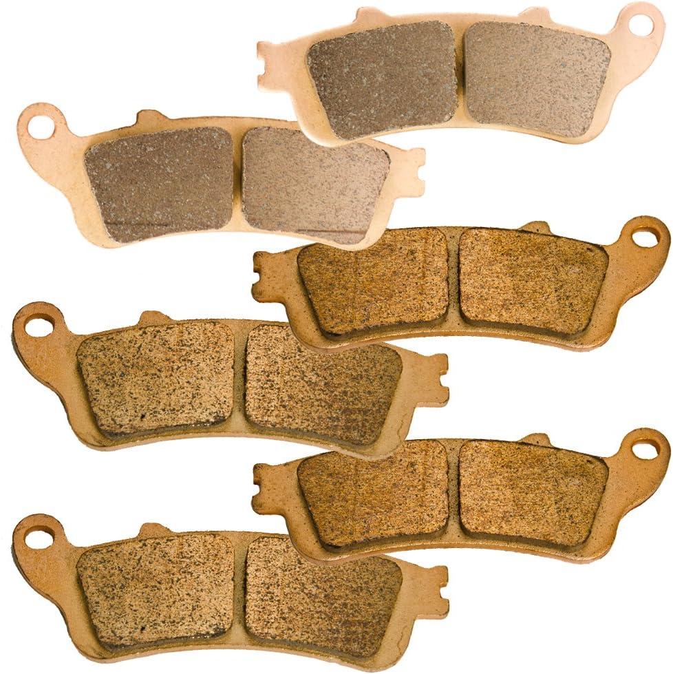 Front and Rear Sintered Brake Pads for Honda VTX1800 VTX 1800 S Spoke Model 2002-2007