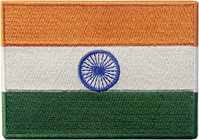 India National Flag Patch