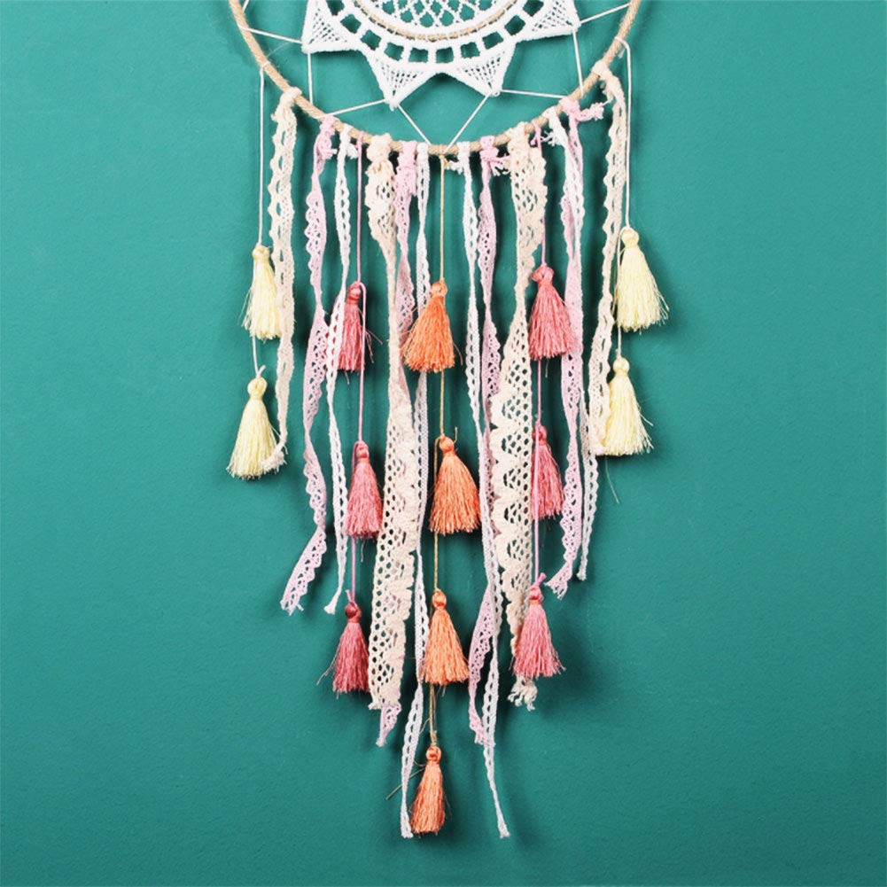 Tri-Layered Tassels with Gold Jump Ring for DIY Projects NBEADS 20 Pcs Pink Polyester Tassel Pendants Decoration Jewelry Making Bookmarks