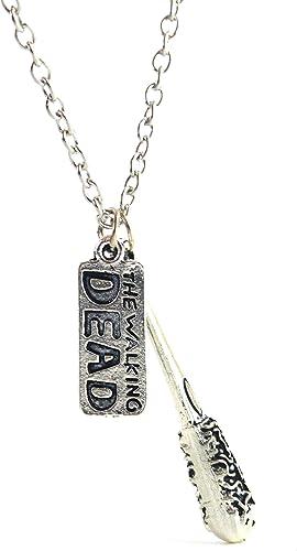 Negan/'s Lucille Bat Necklace TWD