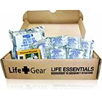 Life Gear Emergency Food, Water & Thermal blanket for 1 person, 3 days, add to emergency or survival kit