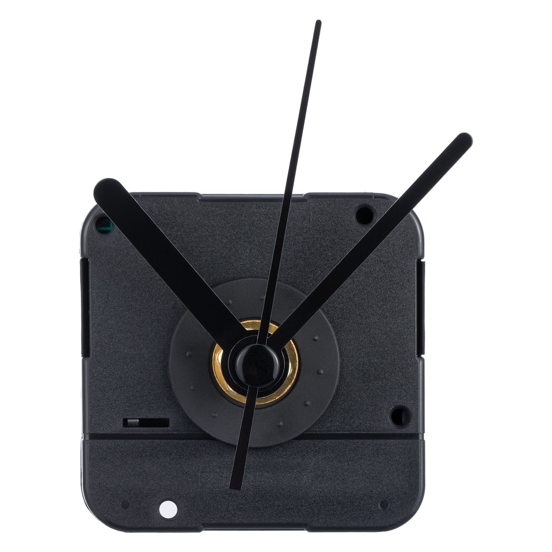 Orologio del Movimento con Lancette Corte, 4/ 25 Pollici di Spessore Massimo Quadrante, 3/ 5 Pollici Lunghezza Totale dell'Albero Mudder