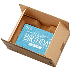 Amazon.ca Gift Card in a Mini Amazon Shipping Box (Birthday Icons Card Design) link image