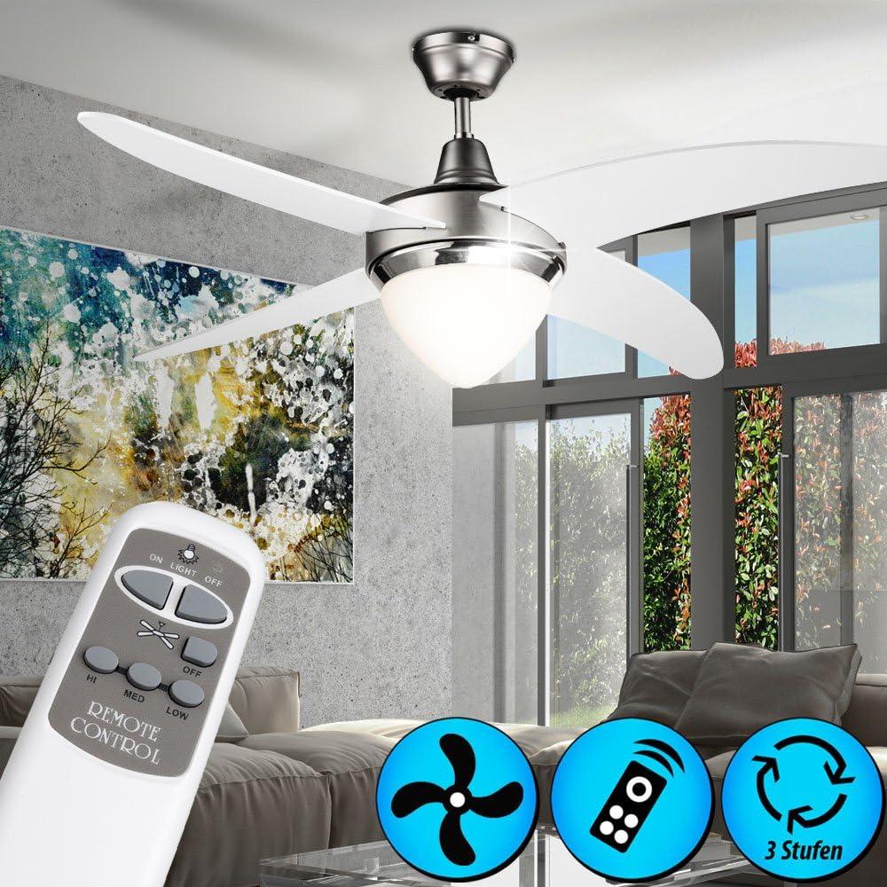 Couvrir les changements de couleur fan ventilateur lampe