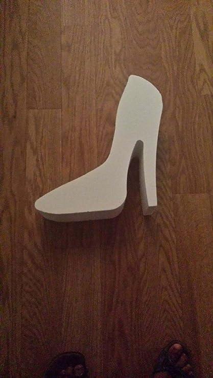 c97882577357e Amazon.com : Styrofoam Shoe Heel Shape 10 Inch : Everything Else