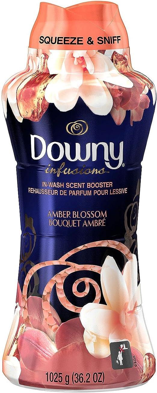 Downy Infusiones ámbar flor perlas 37,6 oz: Amazon.es: Hogar