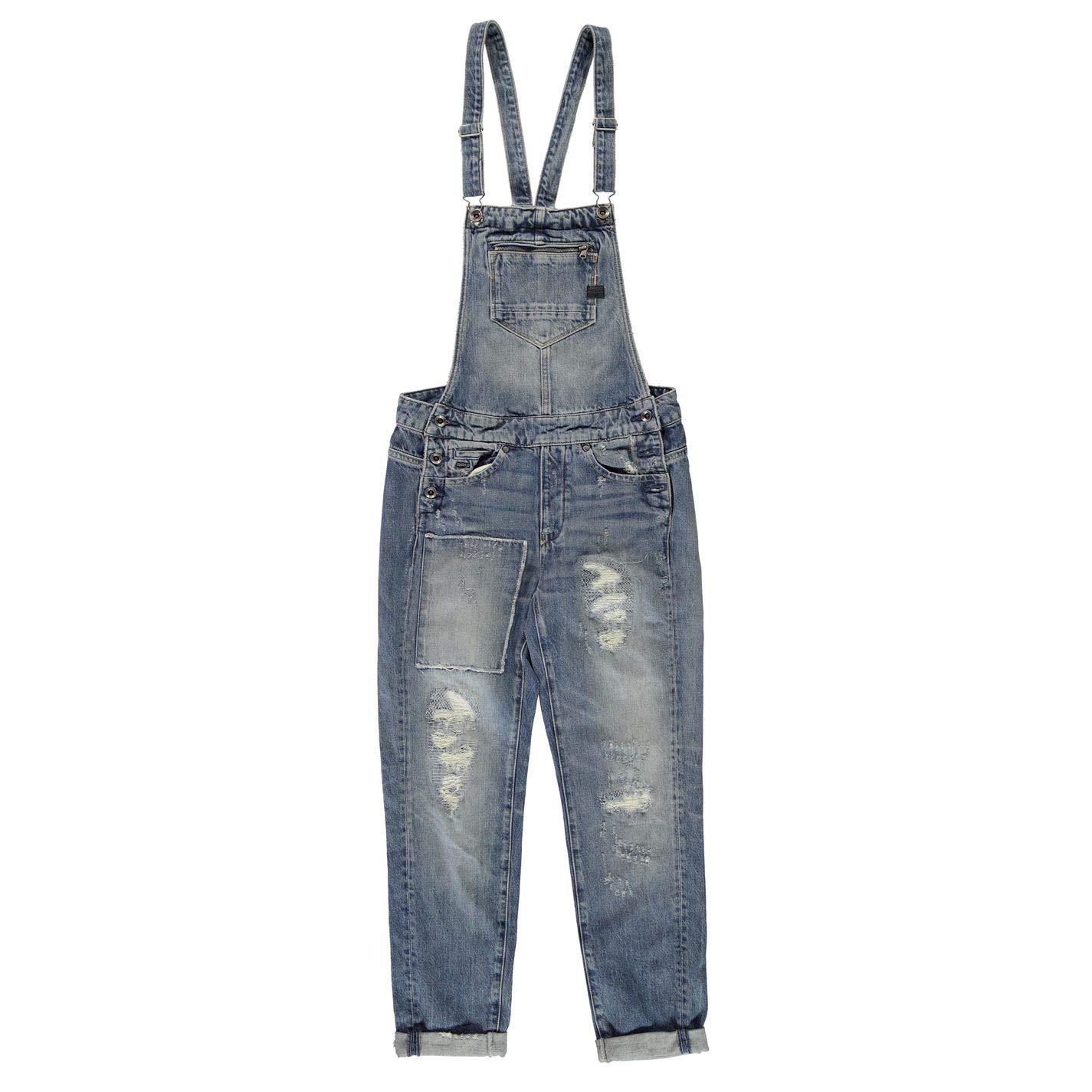 5af5ecc0f40d G Star Womens Midge Slim Salopette Jumpsuit Md AGD Rstrd 30 14 (L)   Amazon.co.uk  Clothing