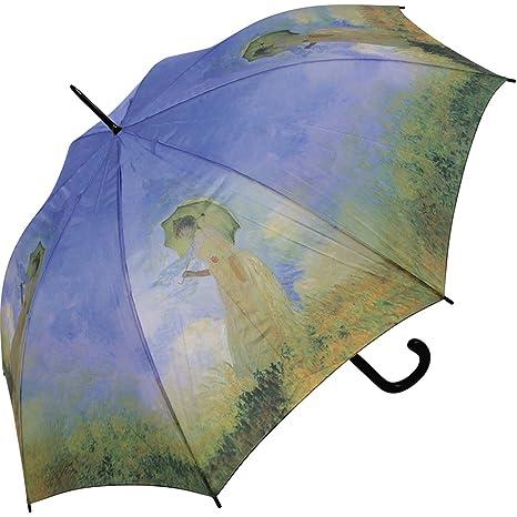 Paraguas Mujer con Sombrilla de Monet