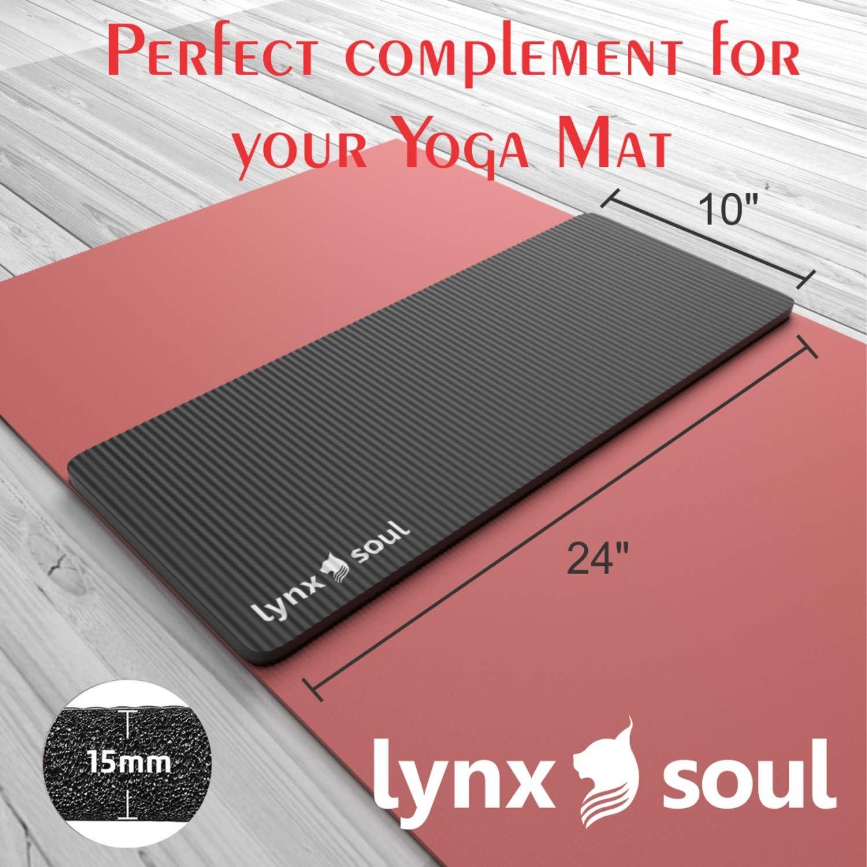 Amazon.com: LYNXSOUL - Cojín para yoga, rodillera y codera ...