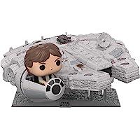 Funko Pop! Deluxe: Star Wars - Millennium Falcon with Han Solo, Amazon Exclusive