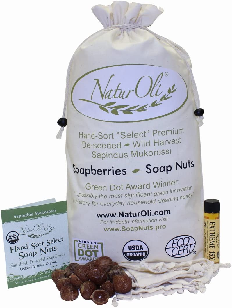 NaturOli Soap Nuts/Soapberries
