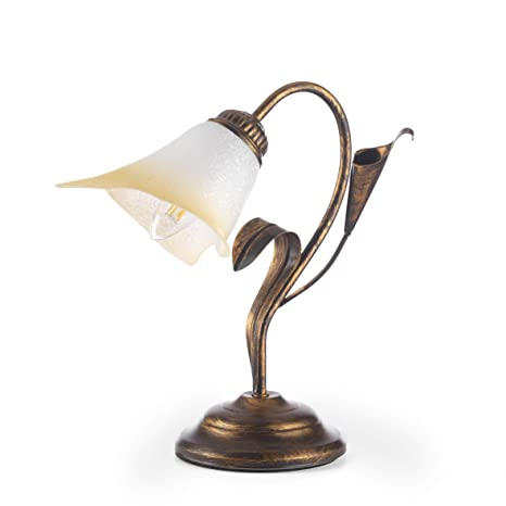 dormir con pies de lámpara de mesa estilo Clásico de metal ...