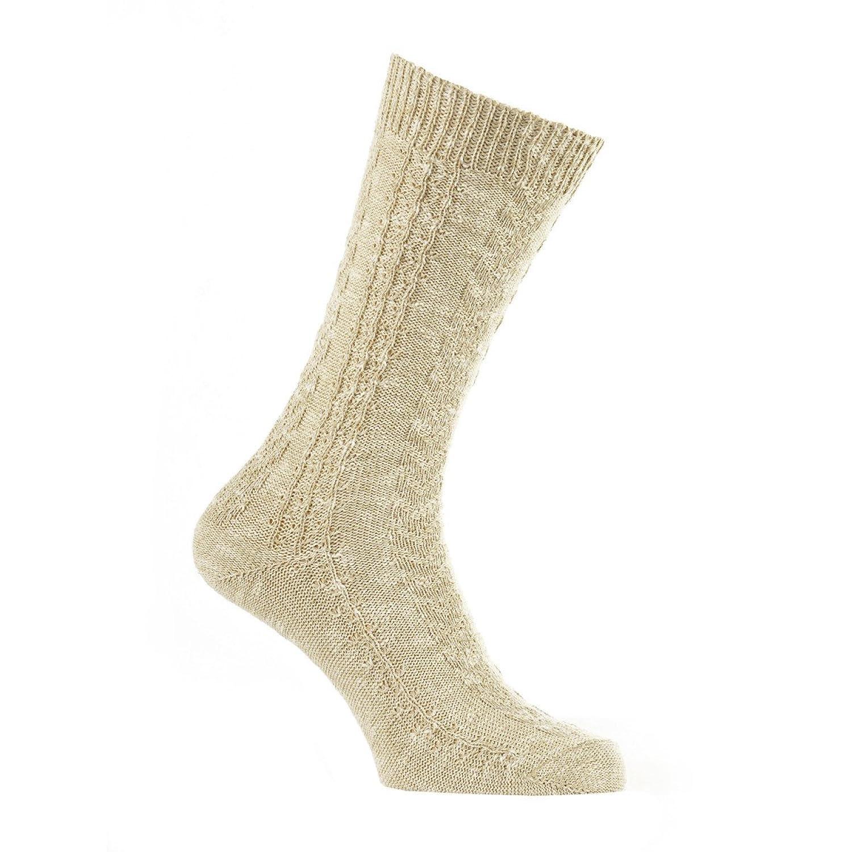 Socken in beige von Luise Steiner