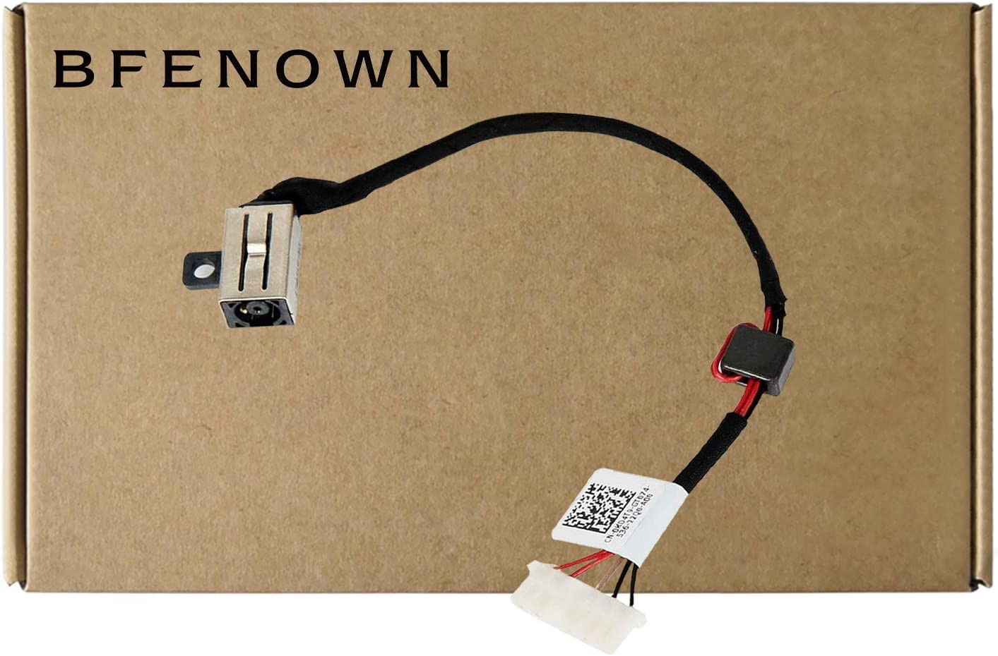 Bfenown DC Power Jack Harness Cable Plug for Dell Inspiron 15 3000 15-5000 5551 5552 5555 5557 5558 5559 14-5458 5459 5455 5452 P51F P64G DC30100UD00 Vostro 3458 3558 3559 P65G 3559 17-5000 5755 KD4T9