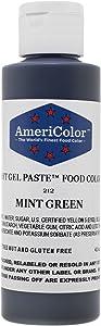 MINT GREEN SOFT GEL PASTE 4.5 OZ Cake Decorating