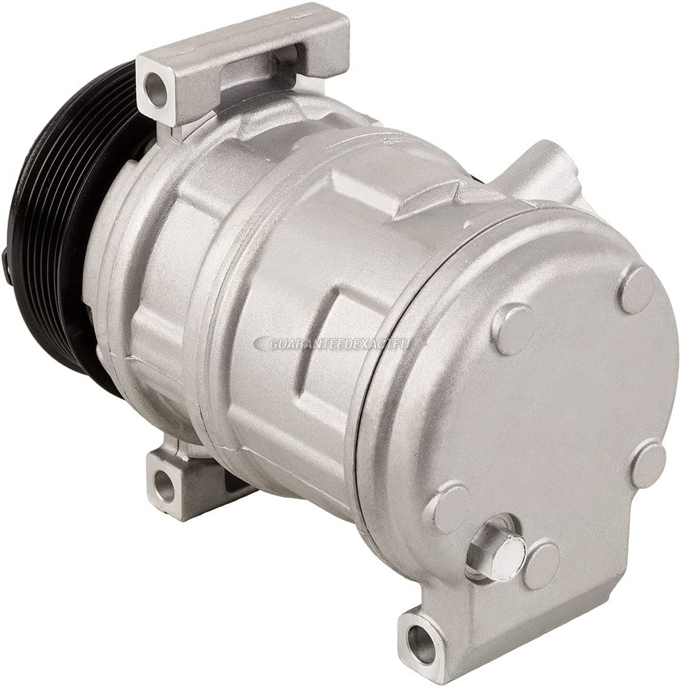 For Chevy Express 1500 Express 2500 Express 3500 AC Compressor /& A//C Clutch BuyAutoParts 60-03216NA New
