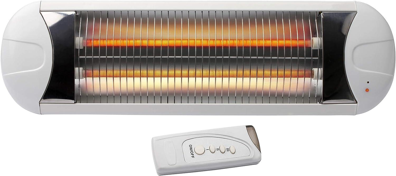 Hartig + Helling BS 51 - Calentador electrico 200, 400, 600 Watt ((Tubo de calefacción 1 con 400 vatios, tubo calefactor 2 con 200 vatios)