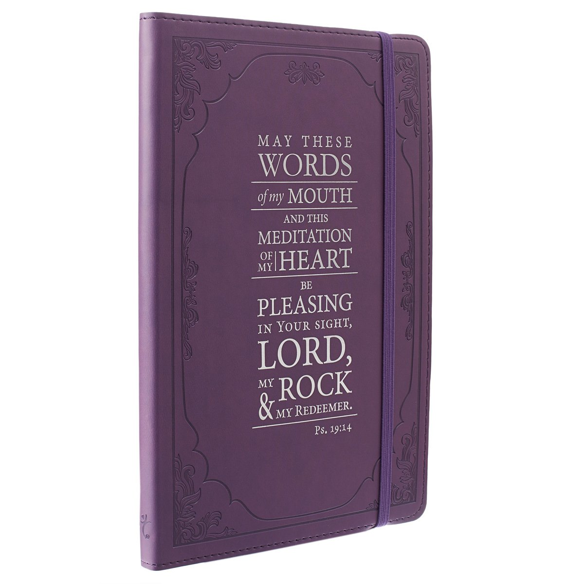 Purple Psalm 19 Flexcover Notebook