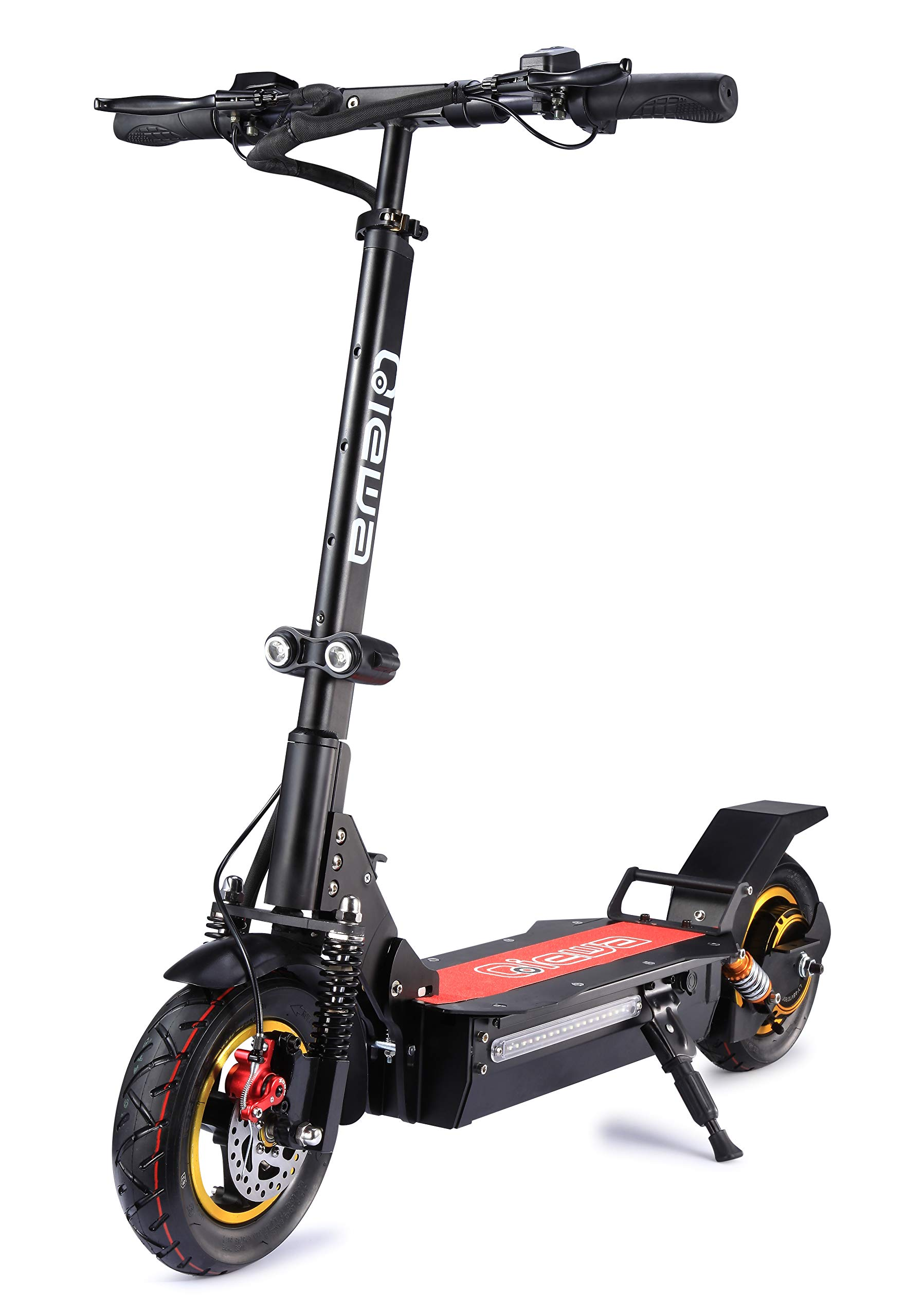 QIEWA Q1-Hummer Electric Scooter | Max Speed 37MPH | Max Drive Distance 68 Miles | 48Volts+26AH Battery | Remote Anti-Theft Design|800Watts Motor|Double Disc Brakes|Amazing Driving Distance