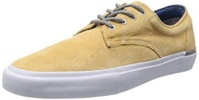 9af76df453 Vans Mens Derby S quot  Jason Dill Wheat White Suede Size 11.5 Skateboarding