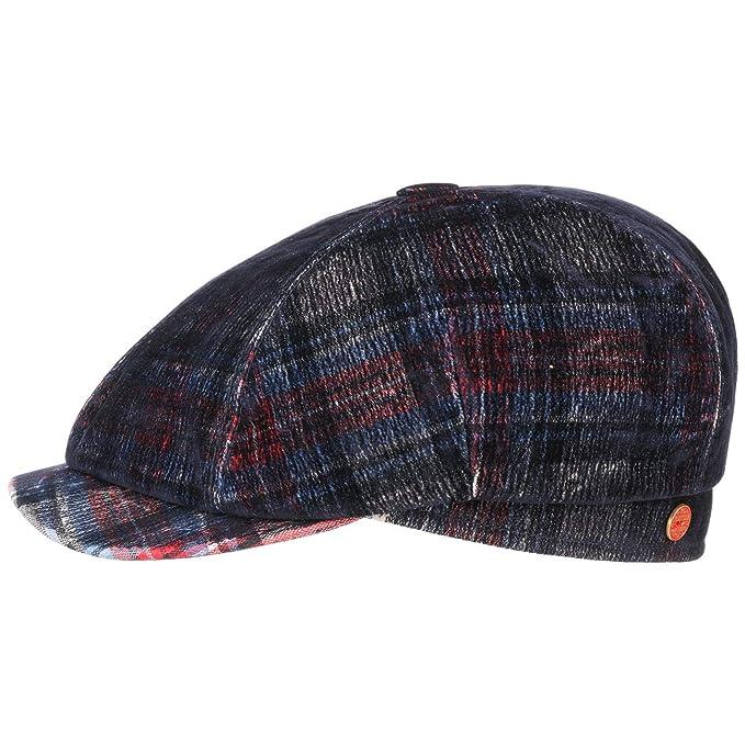 MAYSER Coppola Seven Velvet Check Cotton cap Cappellino da Uomo  Amazon.it   Abbigliamento d8d42d95792b