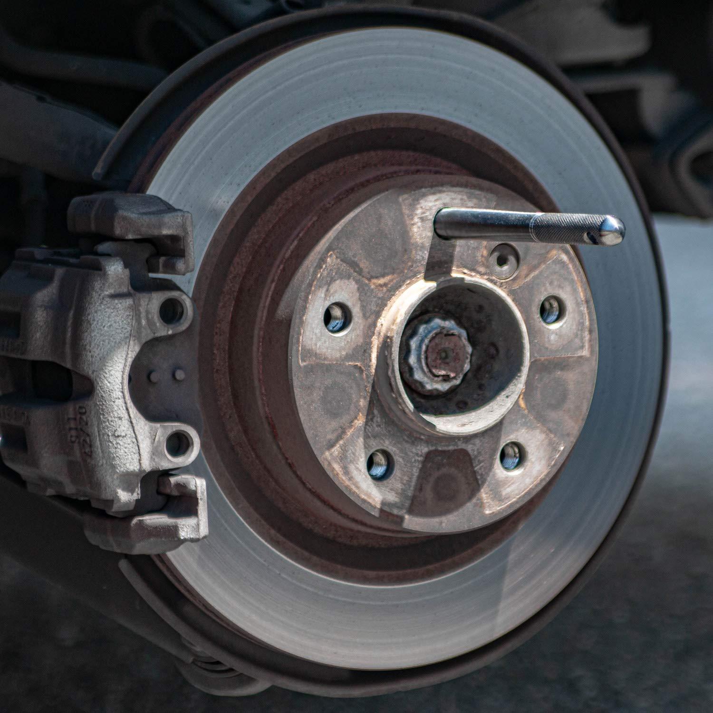 M14x1.5 Metric 14x1.5 Threads Wheel Lug Bolt Automotive Mechanic Tool Compatible with European Cars Black Wheel Hanger Alignment Pin Guide Tool Audi VW Volkswagen Mercedes Benz