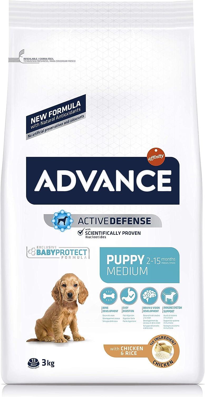 ADVANCE Medium Puppy - Pienso Para Cachorros De Razas Medianas - 3 Kg