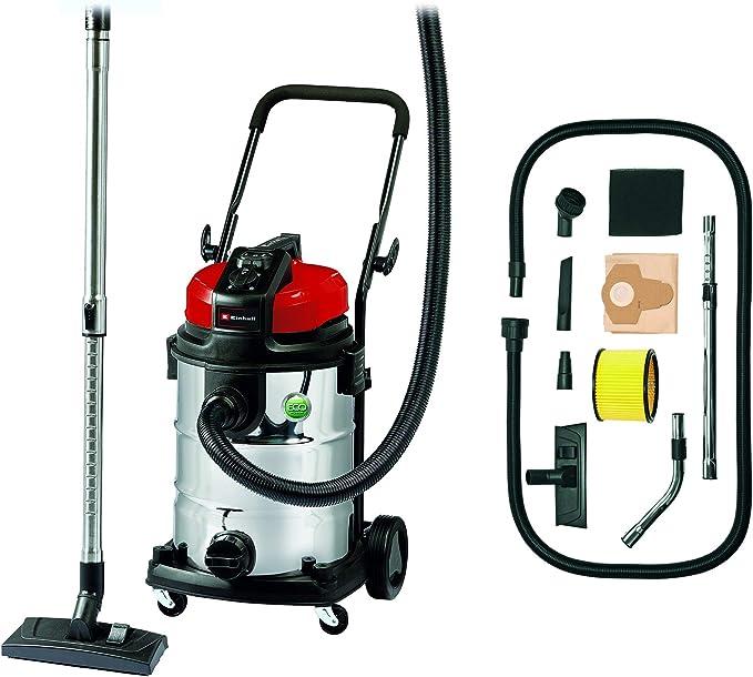 Einhell Expert 2342363 Aspirador seco/ liquido TE-VC 2230 SA de tipo industrial, 1150 W, 30 L, color plateado: Amazon.es: Bricolaje y herramientas