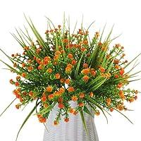 MIHOUNION 4 Bundle Piante artificiale plastica Aglaia odorata Lour arbusti