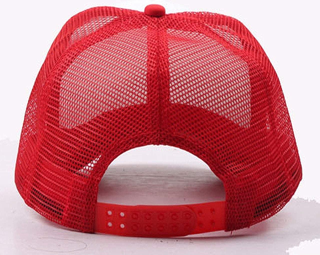 nikeely Candy Inspector Fashion Mesh Trucker Hat Adjustable Baseball Cap