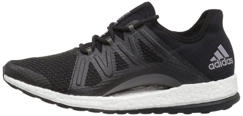 adidas Women's Pureboost Xpose B01NAAJ370 10 B(M) US|Black/Black/Tech Silver