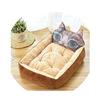 Amazon.com: Colchón para mascotas con diseño de dibujos ...