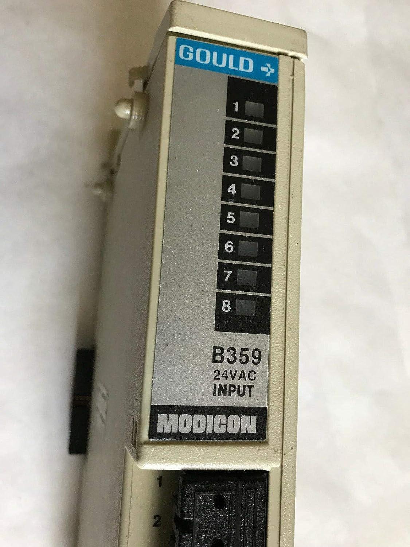 MODICON B359 COULD B359 24VDC INPUT PLC MODULE,SA