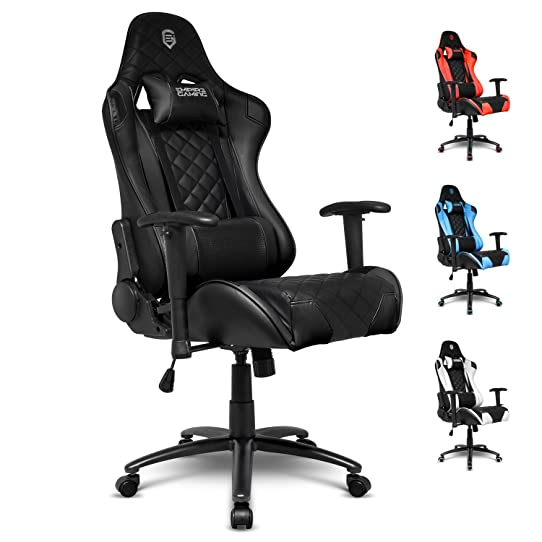 Empire Gaming - Fauteuil Gamer Racing 700 Series Noir - Forme