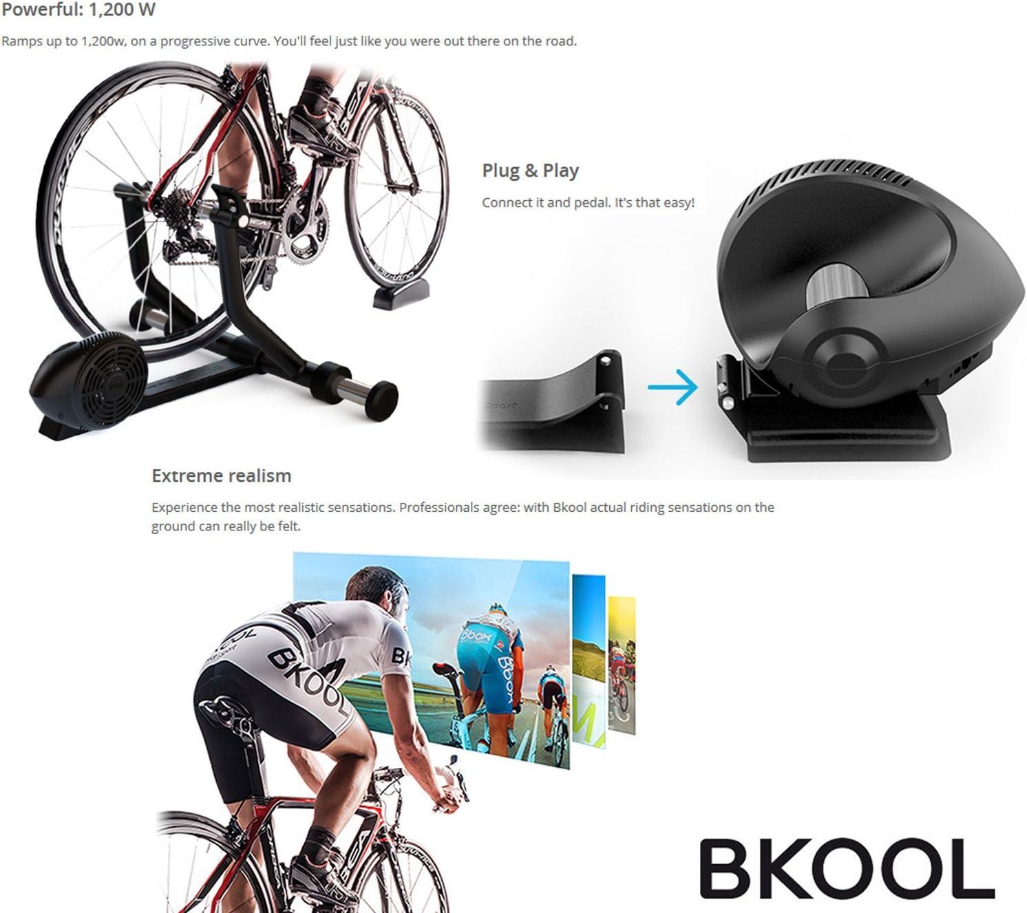 Bkool 2015 Pro Turbo Trainer - Rodillo para uso interior ...
