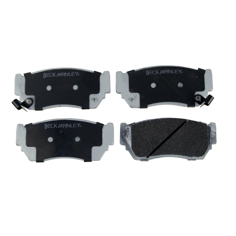 Beck Arnley 085-1422 Premium ASM Brake Pad
