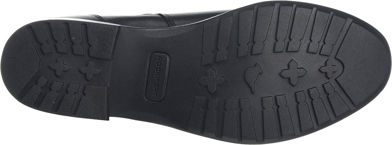 Rockport Copley Waterproof Strap Boot, Bottes Classiques Femme Noir Black 001