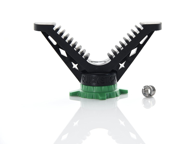 Hammers V Yoke Mount with camera thread for Monopod Tripod Shooting Stick
