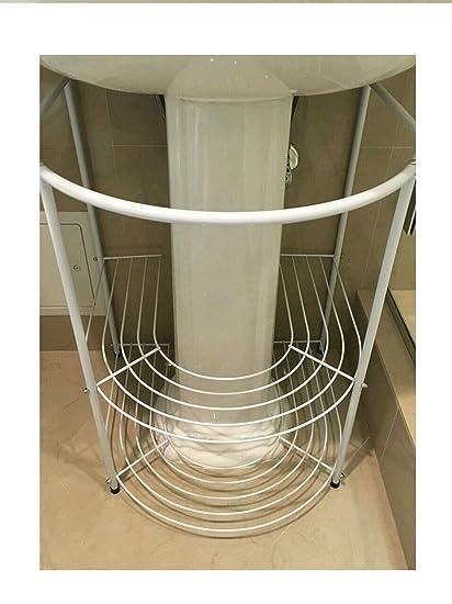 Heaven Tvcz Pedestal Sink Towels Bathroom Storage Rack White Modern Shelves  Under Stand For Storing Those