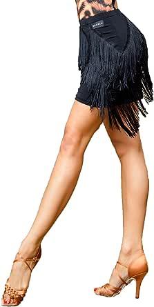 Superstar Series:G3049 Latin Ballroom Dance Professional Flash mesh Material Manual Tassel Swing Design Dress