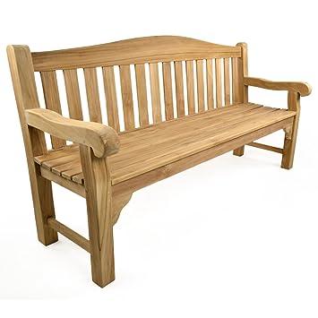 Bracken Style Oxford 180 cm-Bench-Banc de jardin en bois avec banc ...
