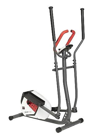 Body Sculpture BE-1720G - Bicicleta elíptica con 18 niveles de resistencia electrónicos -pulsómetro