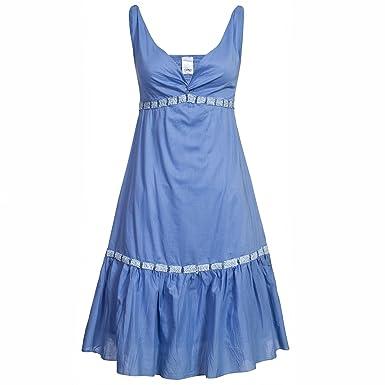 Kleid hellblau baumwolle