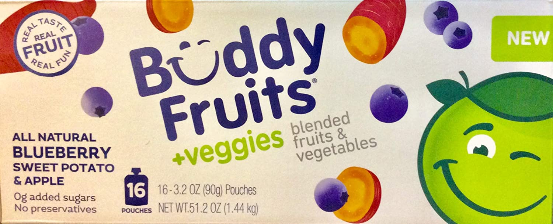 Buddy Fruit plus Blueberry Sweet Potato & Apple