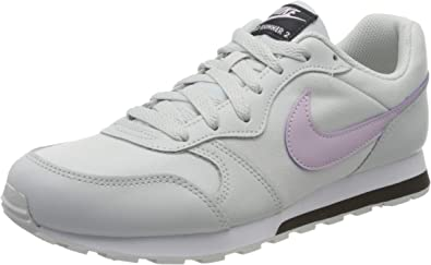 Nike MD Runner 2 (GS), Zapatillas de Running para Niños, Photon Dust Ice Lilac Off Noir White, 36.5 EU: Amazon.es: Zapatos y complementos