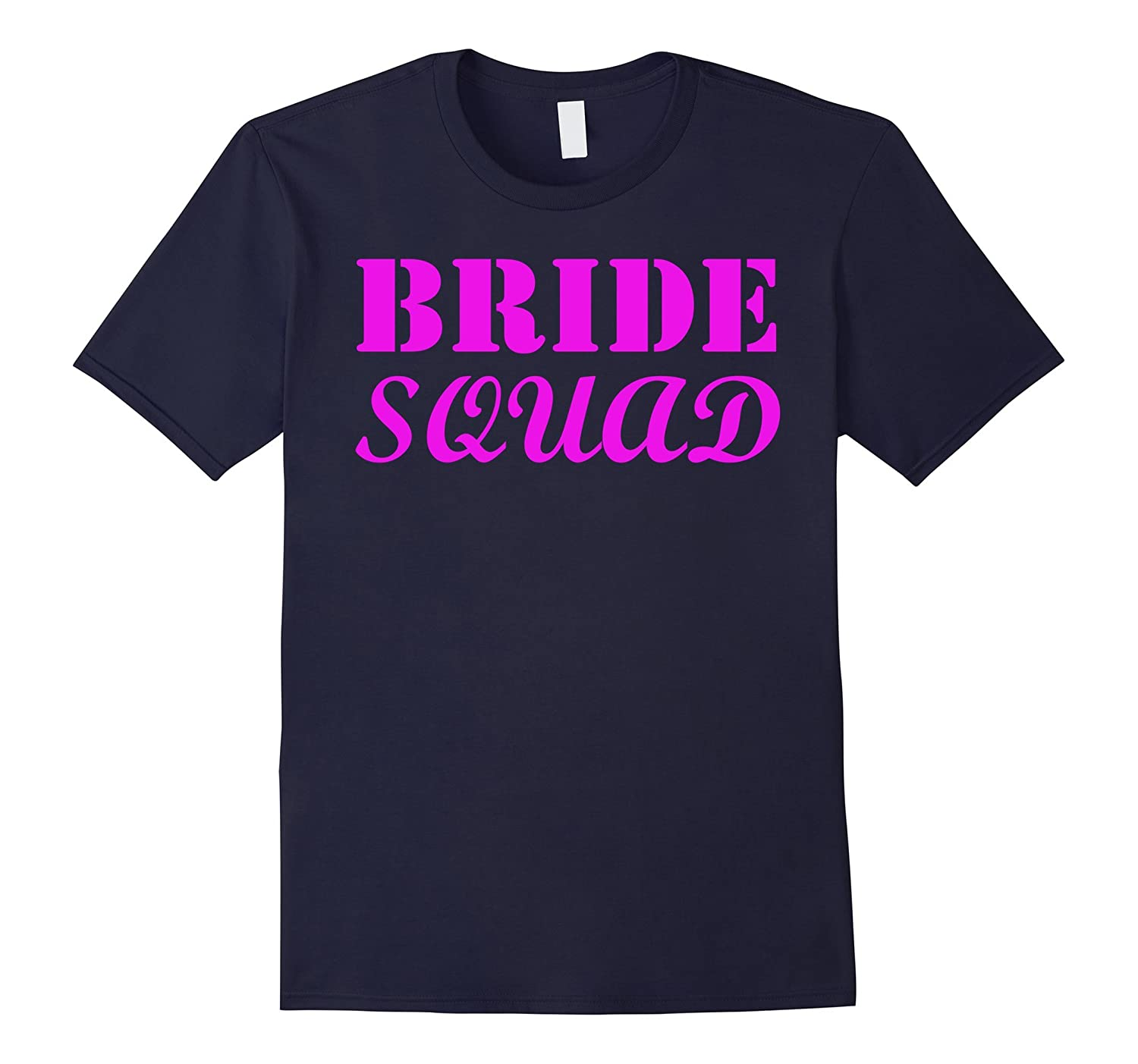 Bride Squad T-shirt Wedding Party Shirt-Vaci