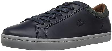 a1f85ec9fd6526 Lacoste Men s Straightset 417 1 Casual Sneaker Navy 13 ...