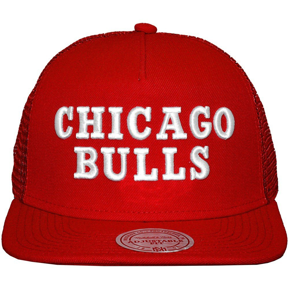 Mitchell and Ness - Gorra Trucker para hombre Chicago Bulls corto ...